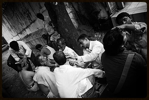 The Worlds Best Barbers Are Born In India .. by firoze shakir photographerno1