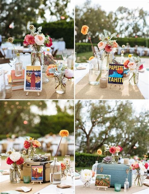 Vintage Travel Themed Wedding: Brittney   Patrick