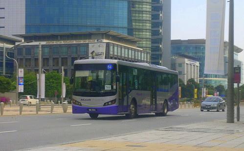 13062011-Blue Nadi Kota bus at Putrajaya P3 by Adibi