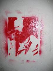 Bearded Man Stencil