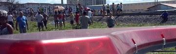 Mulher morre atropelada por trem em Taubaté (Rauston Naves/Arquivo Pessoal)