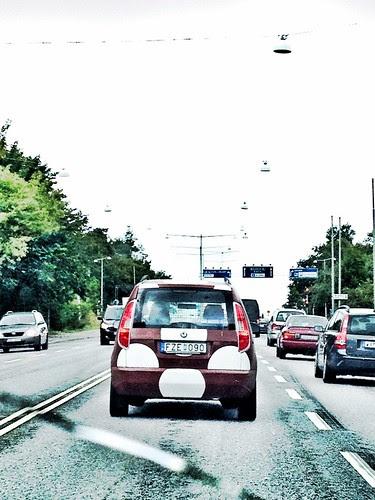 a dotty car