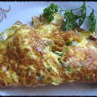 Lekki omlet z warzywami bez mąki