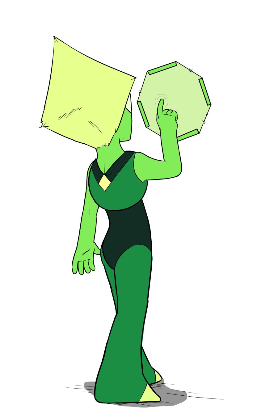 Peridot doin' her thing.   —   Commissions are open. See my drawings here. Shoot me a DM.