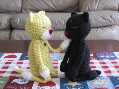 Amineko crocheted by O-san