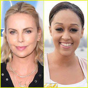 Charlize Theron Addresses Tia Mowry Feud Rumors (Video)