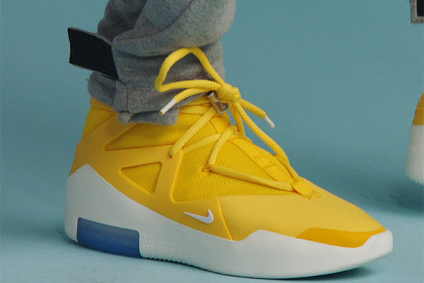 cf2f87324cd35 The Nike Air Fear Of God 1 Revealed In Yellow
