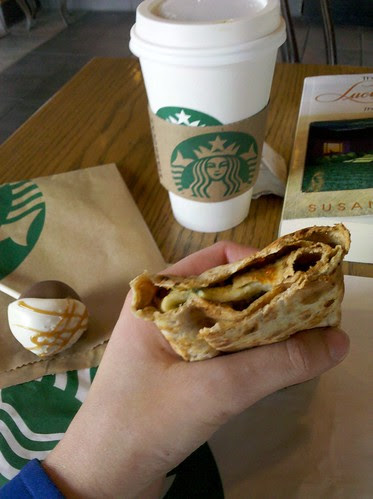 Lunch at Starbucks