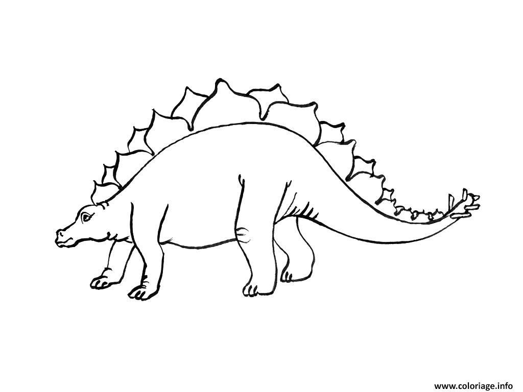 Coloriage dinosaure 89