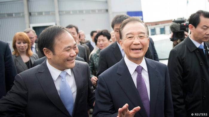 Wen Jiabao Premier Minister China zu Besuch in Schweden (REUTERS)