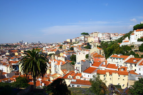 on the way to Castle St George, Lisbon