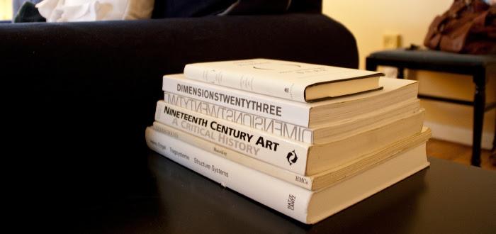 dash dot dotty dashdotdotty house tour interiors tan comfortable modern white stack of books color-coordinated