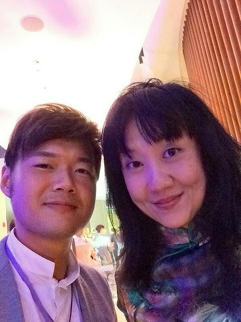 Daniel Ang et moi