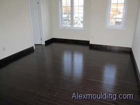 MDF Wood Baseboards upgrades 4 to 10 inches supply installation in ...