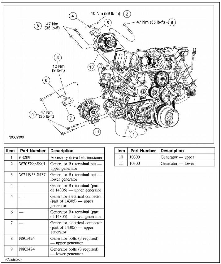 Ford 6 4 Belt Diagram