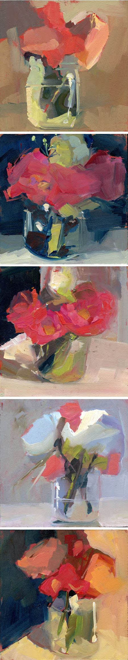 one-a-day paintings by lisa daria <3
