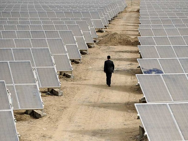 painel solar (Foto: Reuters)