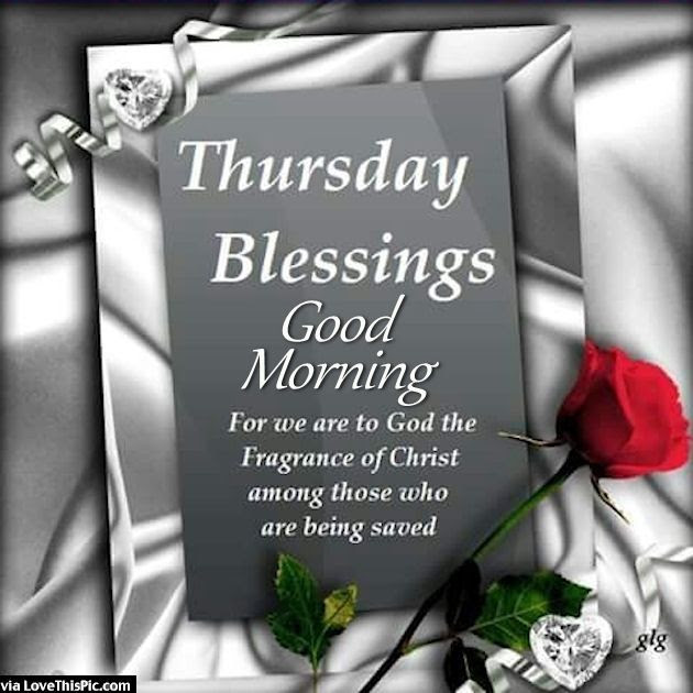 Thursday Blessings Good Morning Religious Quote Pictures Photos
