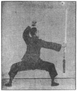 《昆吾劍譜》 李凌霄 (1935) - posture 68