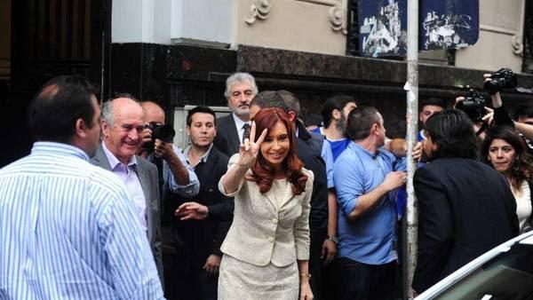 La ex presidenta en una de sus últimas apariciones públicas, en abril pasado (Juan Manuel Foglia).
