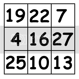 3 by 3 grid Solution 3