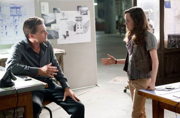 Cobb explains to Ariadne how to manipulate dreams to her advantage in INCEPTION.
