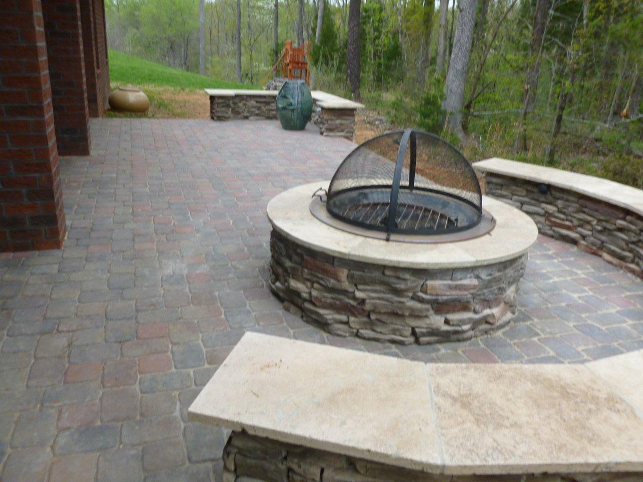 Backyard Fire Pit Patio Ideas