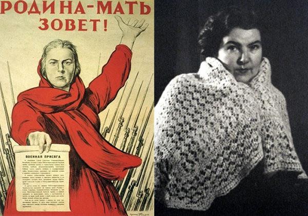 «Родина-мать зовет!»: кто на самом деле изображен на знаменитом плакате