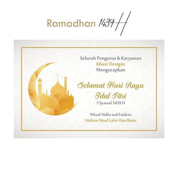 Template Ucapan Selamat Idul Fitri Cdr - kartu ucapan terbaik