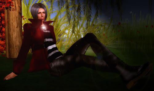 [lotn - monochromes, red, meadows]