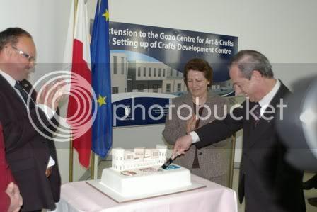 corporate, prime minister, malta, cake, craft centre, arts centre
