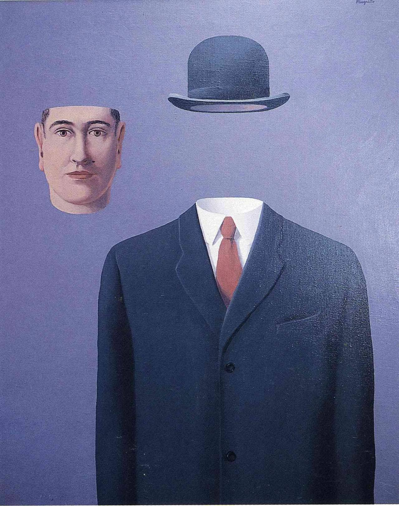 The Pilgrim, 1966 Rene Magritte