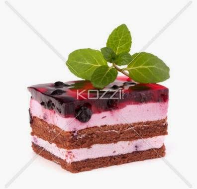 Delicious Cake Piece