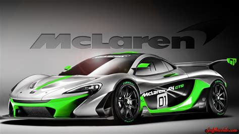 HD Mclaren P1 GTR Wallpaper