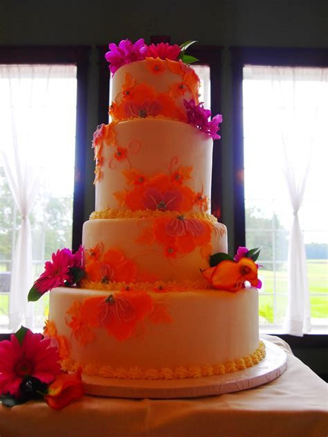 43 best images about Fuschia/Orange Wedding on Pinterest