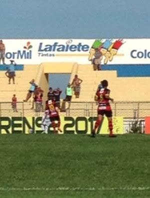 Guarani de Juazeiro x Guarany de Sobral Campeonato Cearense Romeirão (Foto: Fabiano Rodrigues/TV Verdes Mares)