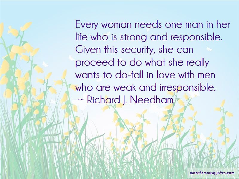 Every Man Needs A Strong Woman Quotes Top 1 Quotes About Every Man