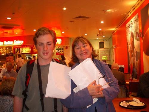Brandon and Ellen at Euston 1158