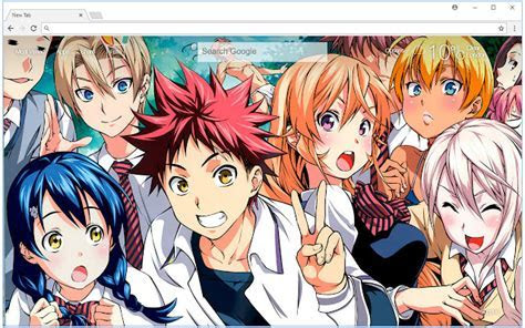 Shokugeki no Soma Wallpaper Food Wars Themes   Free Addons