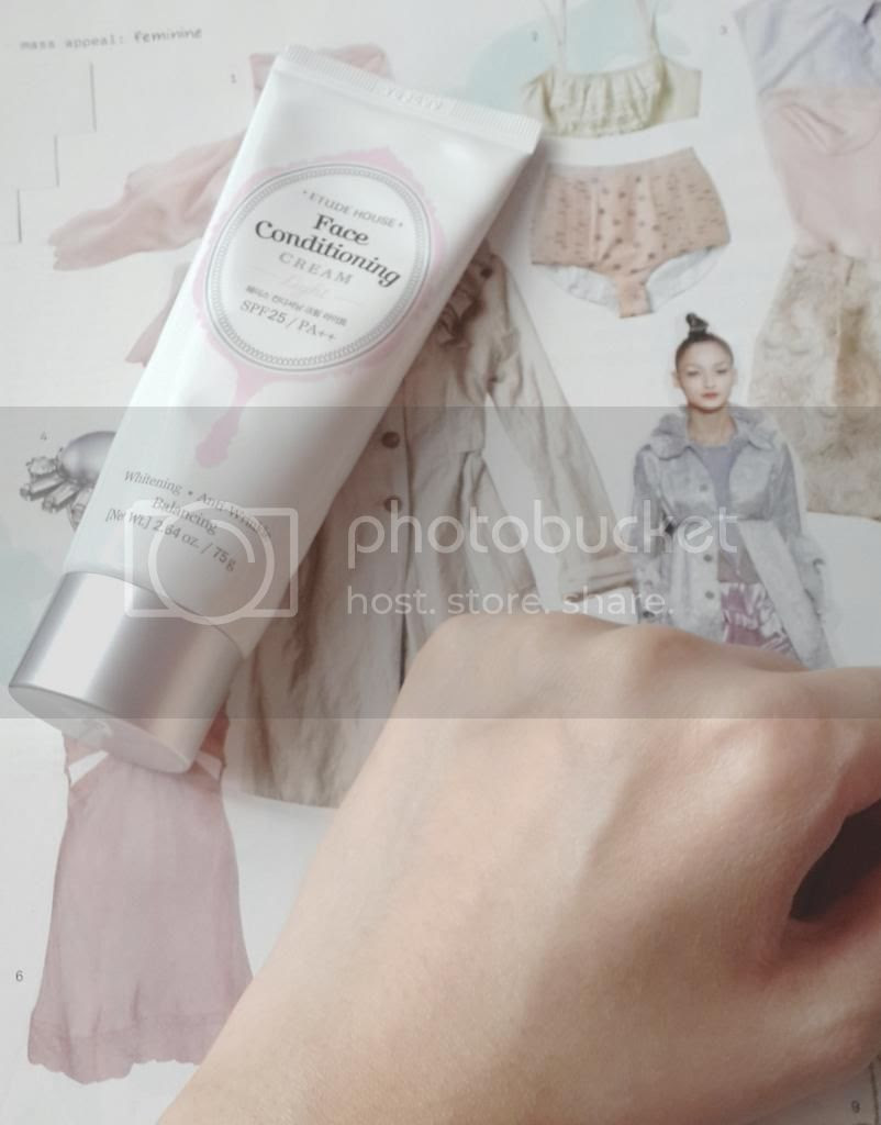 Etude House Face Conditioning Cream Light swatch
