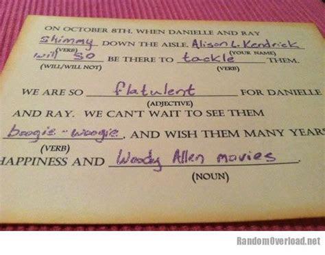 Best wedding response card ever   RandomOverload