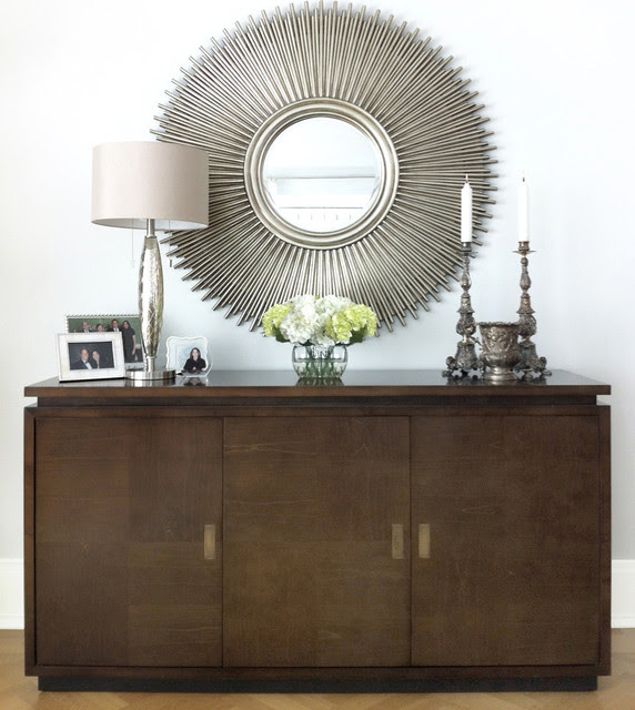 Credenza & Mirror - Modern - Living Room - new york - by ...