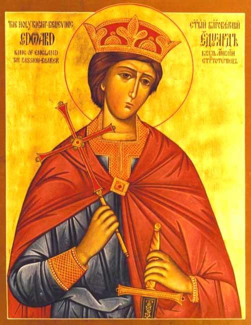 img ST. EDWARD the Martyr, King of England