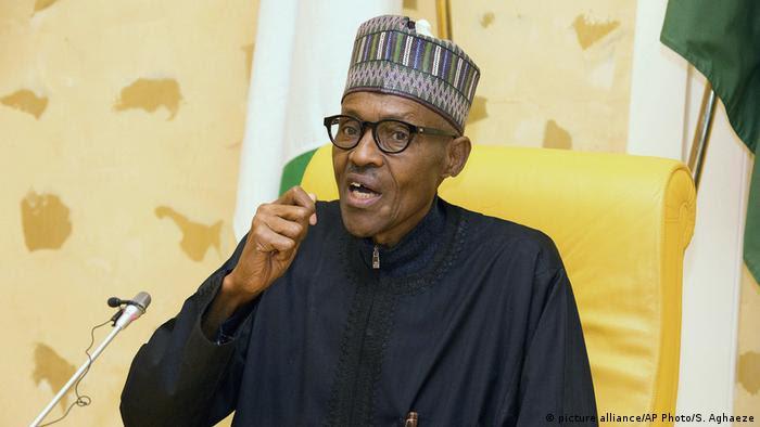 Nigerian President Muhammadu Buhari (picture alliance/AP Photo/S. Aghaeze)