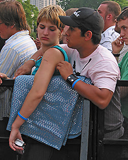 Before the Pixies Set, Lollapalooza, 2005