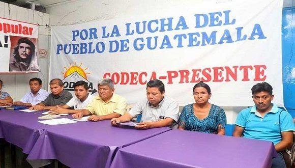 Campesinos e indígenas exigen la renuncia del presidente de Guatemala. Foto: Tomada de Prensa Latina.