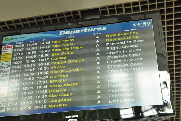 Aeroporto Marechal Rondon longe de operar voos internacionais