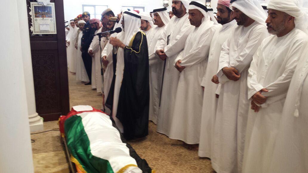 بالفيديو والصور.. الإمارات تُشيع جثامين شهدائها الأربعة.. بمراسم عسكرية