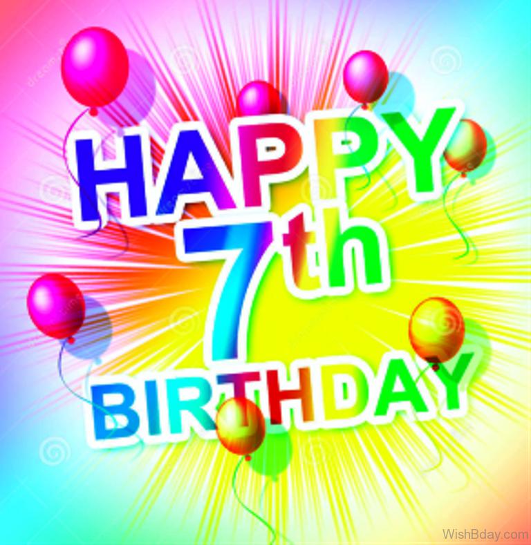 59 7th Birthday Wishes