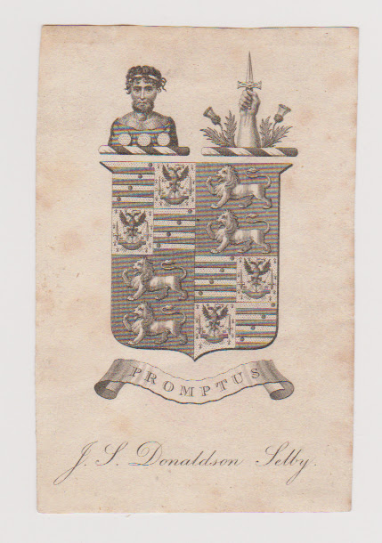 Donaldson Selby Bookplate